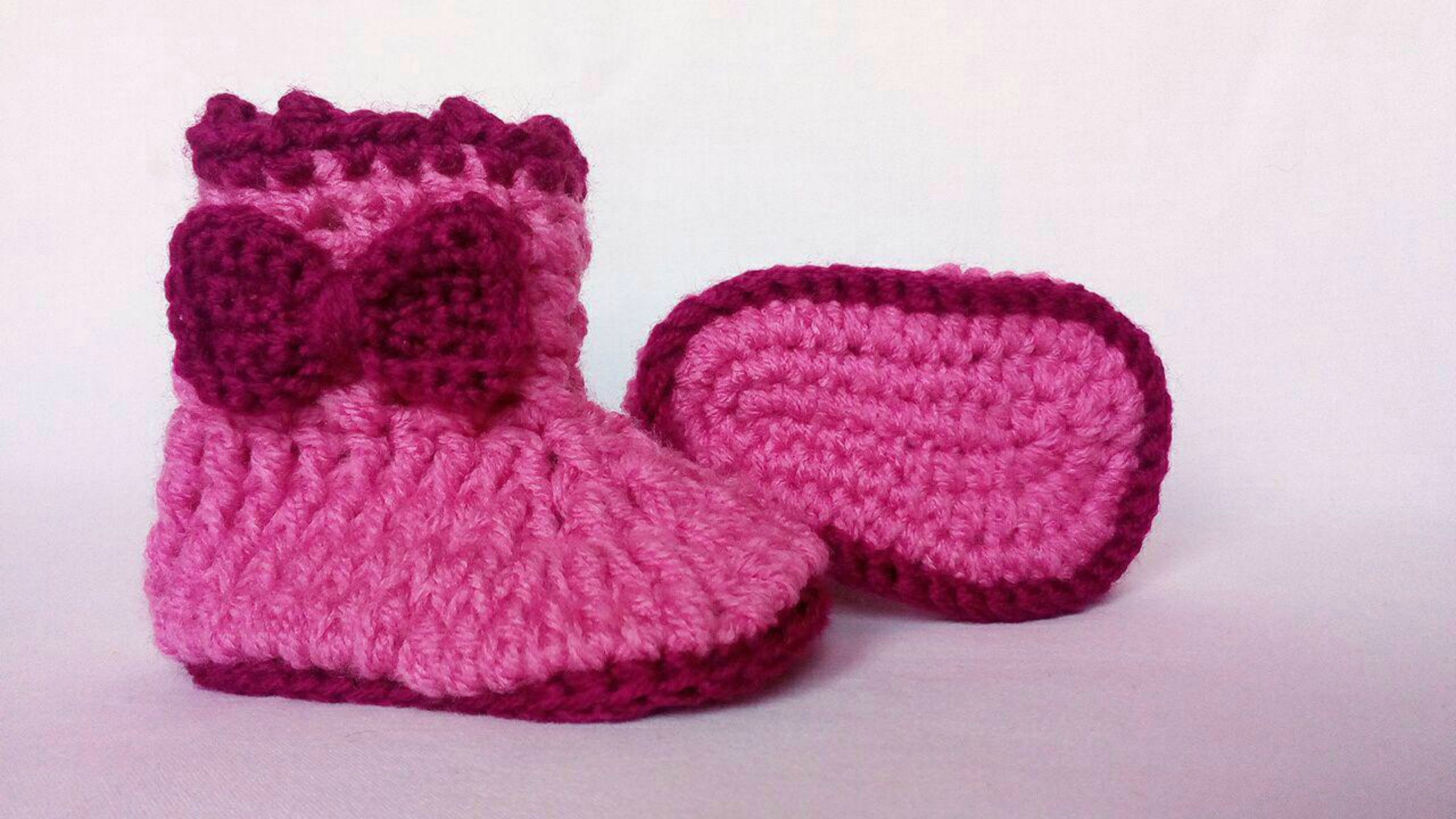 crochet baby shoes free pattern