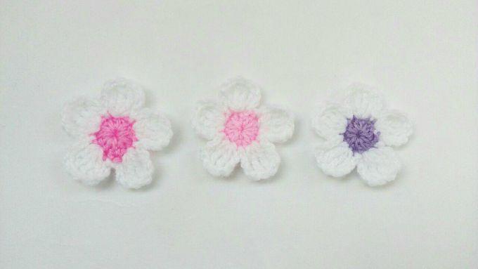 fleur au crochet facile tuto