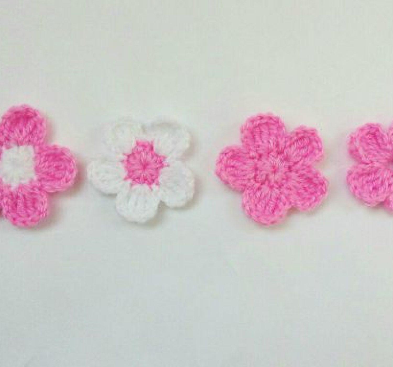 Fleur au crochet modèle gratuit