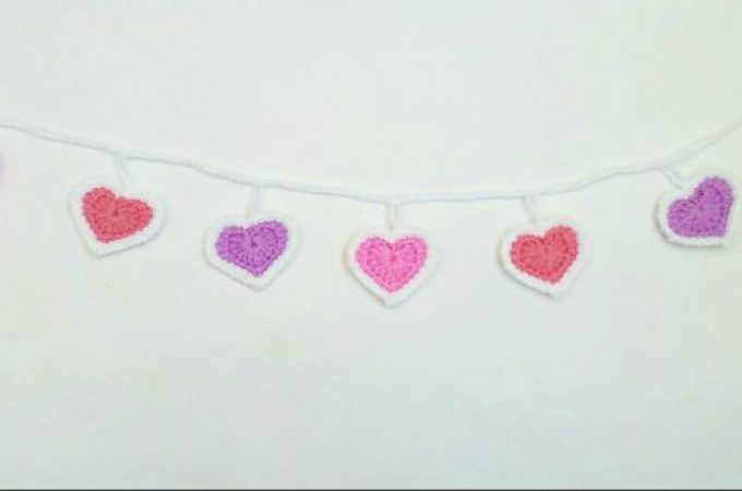 Cœur au crochet