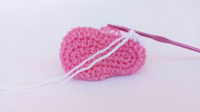 crochet baby booties sole 21
