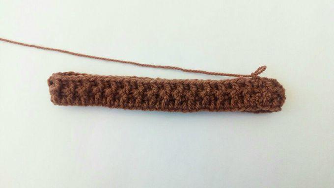 crochet beanie hat step 4