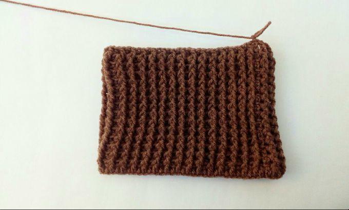 crochet beanie hat step 5