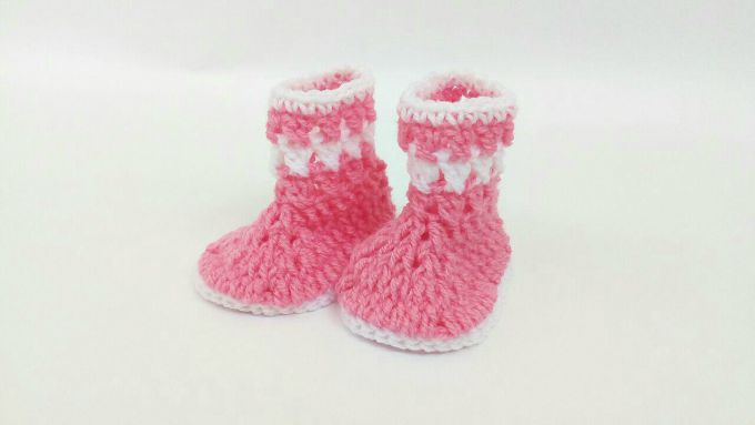 free crochet baby booties pattern 3-6 months