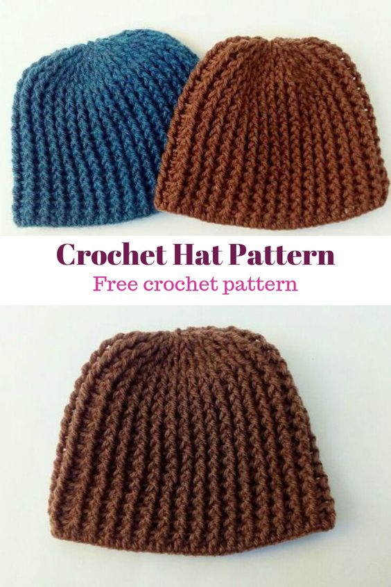 Crochet hat toddler