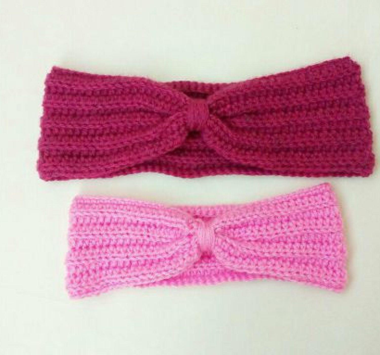 One Hour Crochet Ear Warmer Pattern For Beginners!