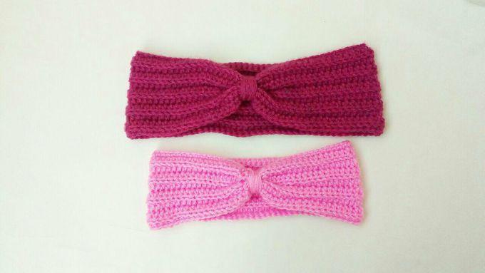 Crochet ear warmer pattern