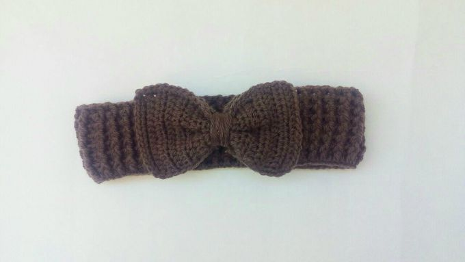 crochet bow headband 2
