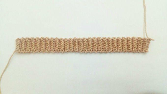 crochet hatband