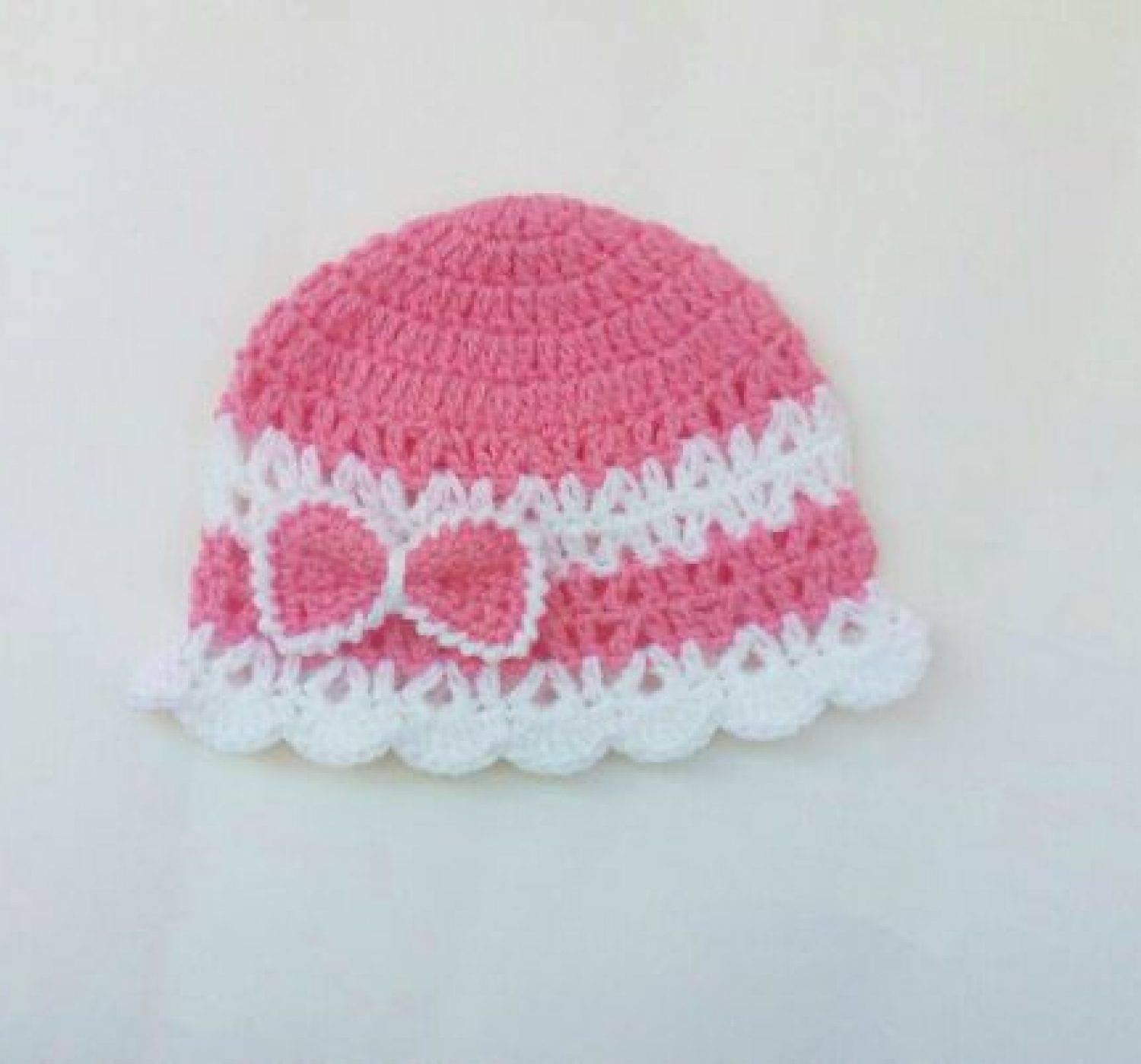 The Pink Crochet Baby Hat Pattern – And the Complete Matching Set!