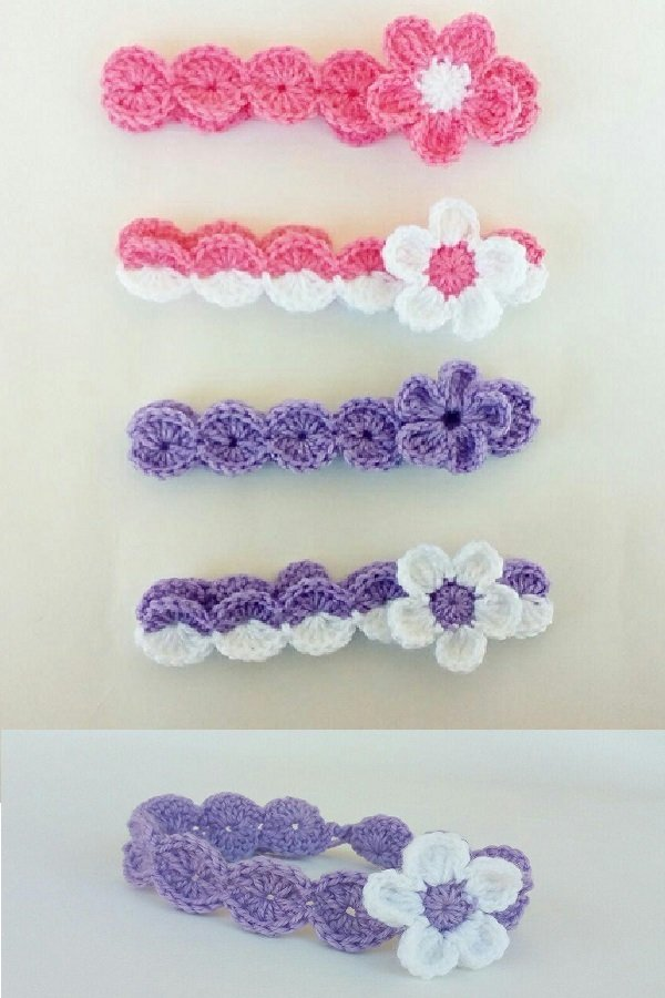 Crochet headband for baby
