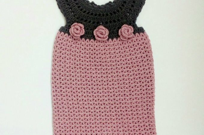 The Laila Crochet Baby Girl Dress Free Pattern