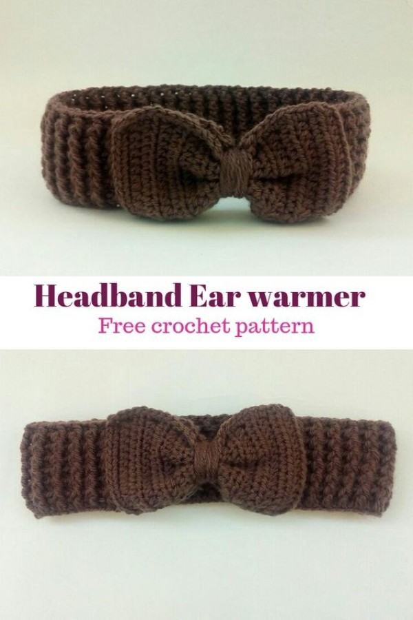 crochet headband ear warmer pattern