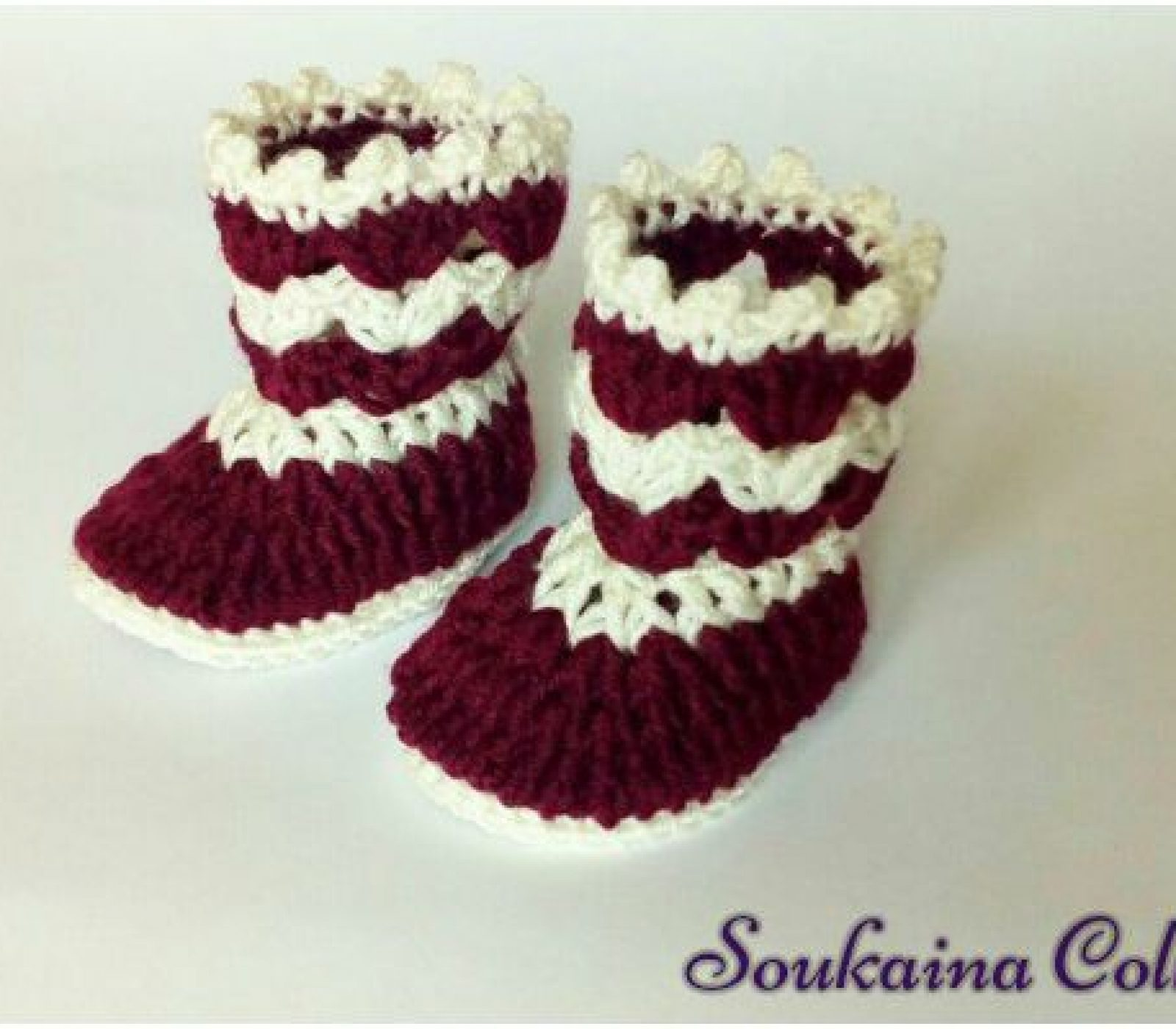 1-Hour Crochet Baby Booties – Free Pattern