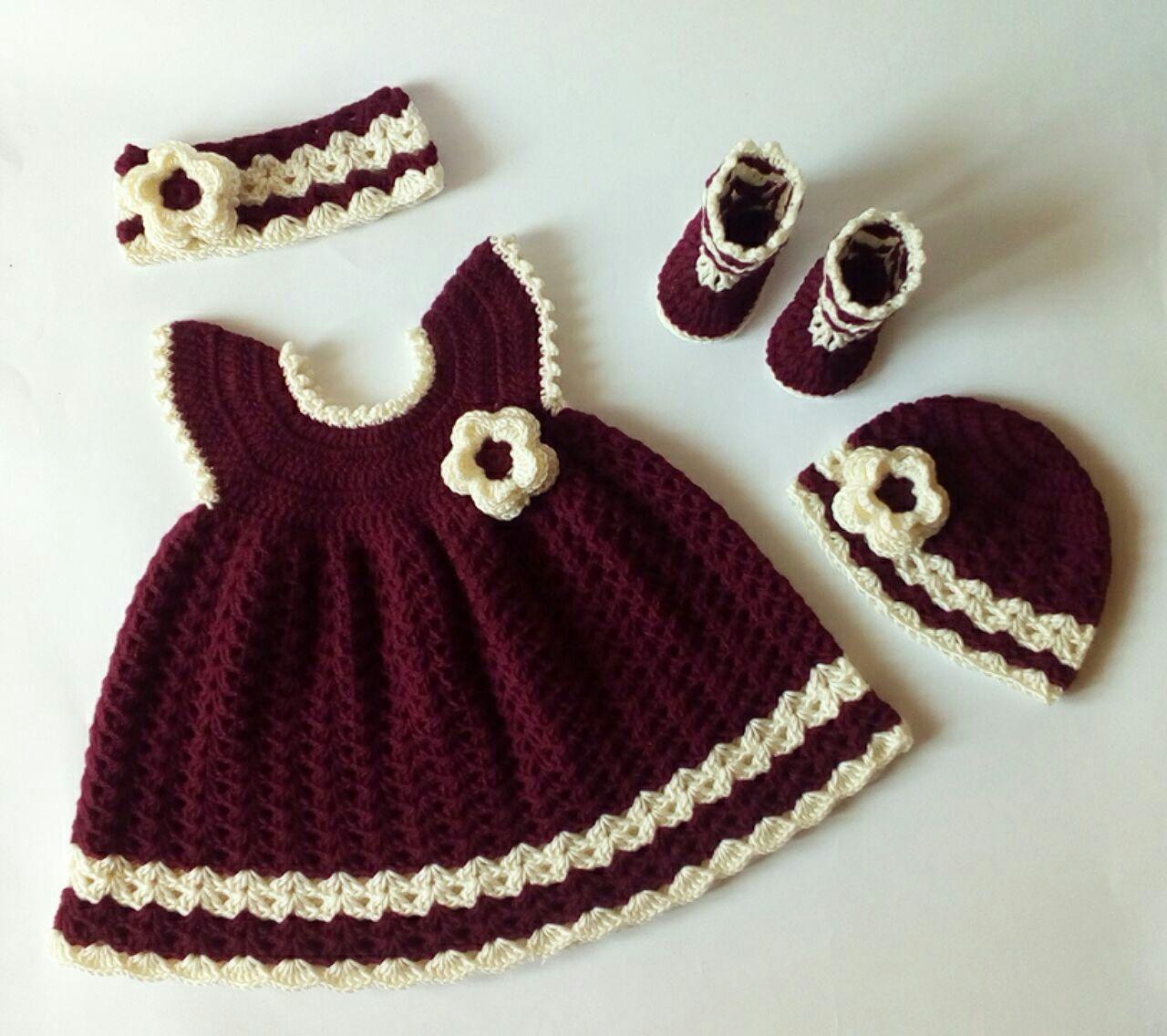 Petite Princesse Sara Robe Bébé Au Crochet Modèle Gratuit