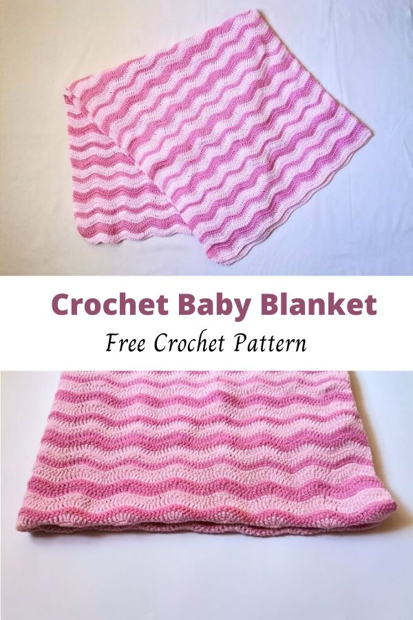 Easy Crochet Baby Blanket For Beginners