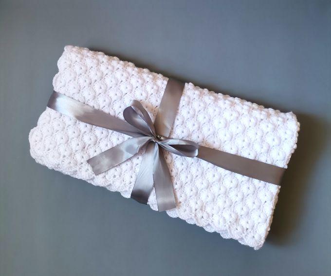 Free Shell Stitch Crochet Blanket Pattern