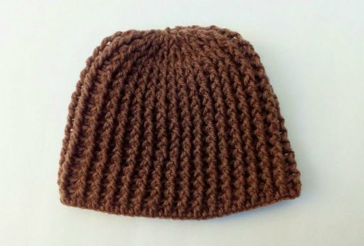 crochet winter hat pattern