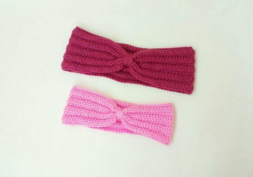 crochet ear warmer for beginners
