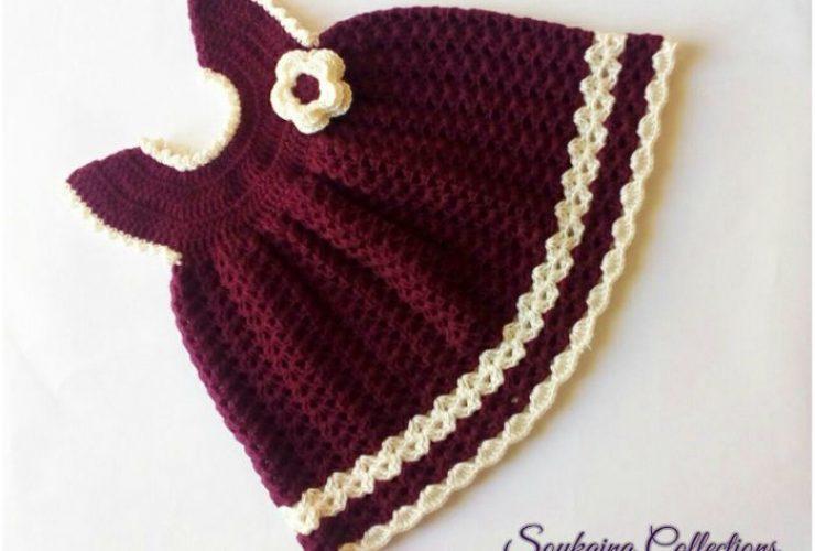 crochet robe bebe au crochet