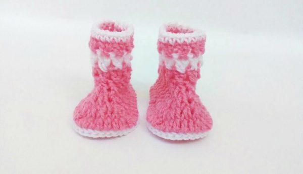 crochet baby booties pattern free