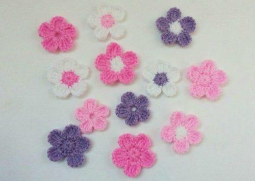 Crochet Flowers Easy Pattern